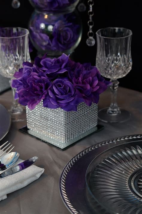 DIY Wedding Table Centerpiece