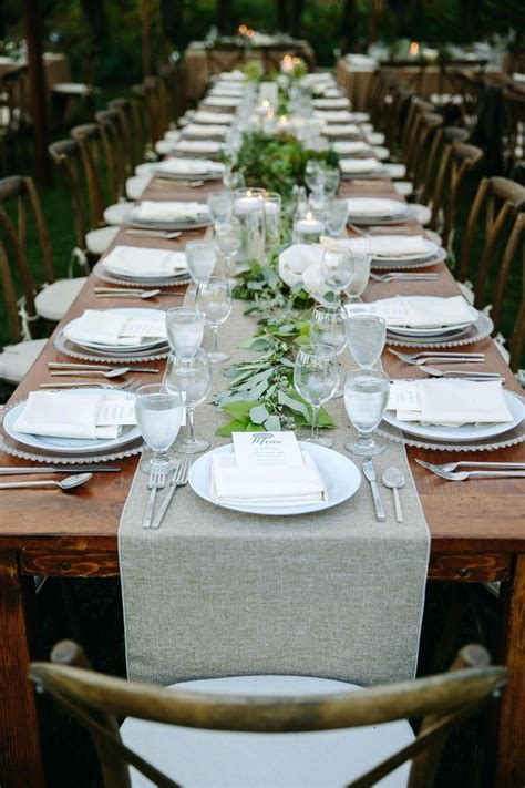 DIY Wedding Table Setting Ideas