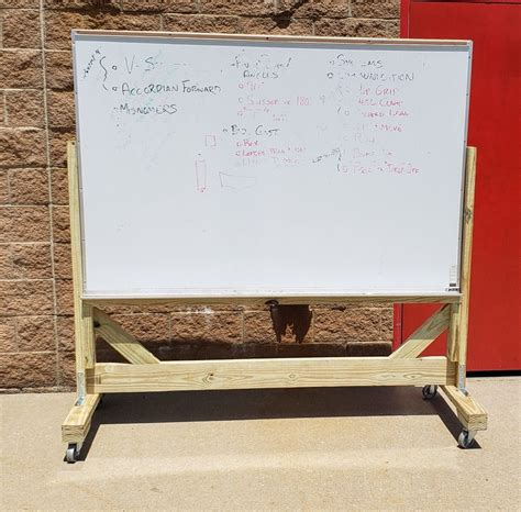 DIY Whiteboard Easel Stand