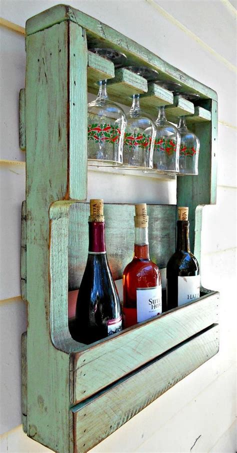 DIY Wine Racks Out Of Pallets