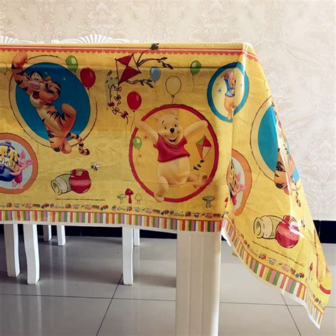 DIY Winnie The Pooh Table Cover