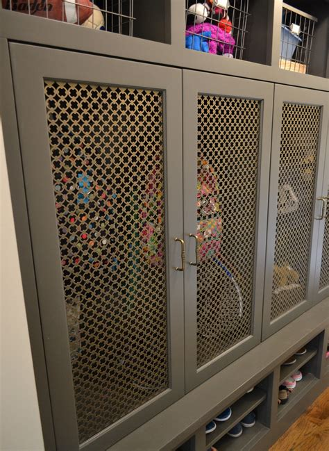 DIY Wire Mesh Cabinet Door