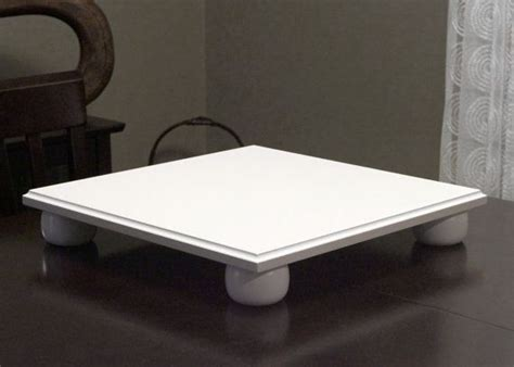 DIY Wood Cake Stand Square