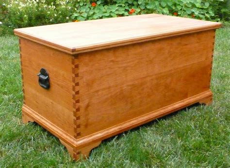 DIY Wood Hope Chest