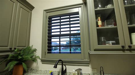 DIY Wood Plantation Shutters