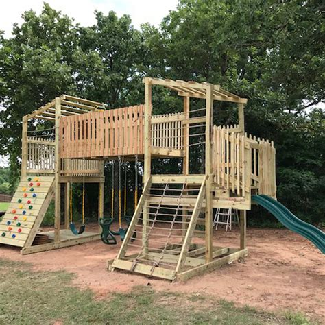 DIY Wood Playsets