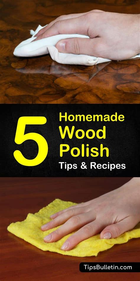 DIY Wood Polish Wax