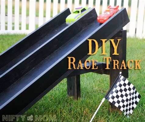 DIY Wood Race Track