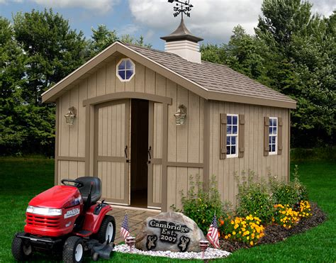 DIY Wood Shed Kits