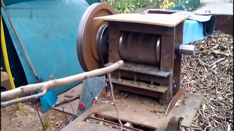 DIY Wood Shredder Machine