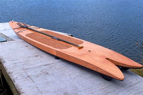 DIY Wood Stand Up Paddle Board