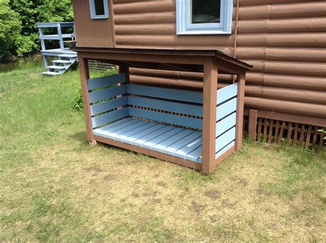 DIY Wood Storage Shed Plans