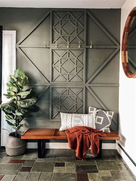 DIY Wood Style Wall