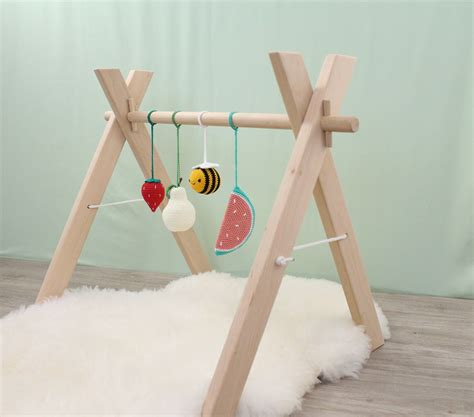DIY Wooden Activity Gym