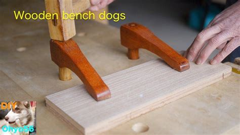 DIY Wooden Bench Dogs