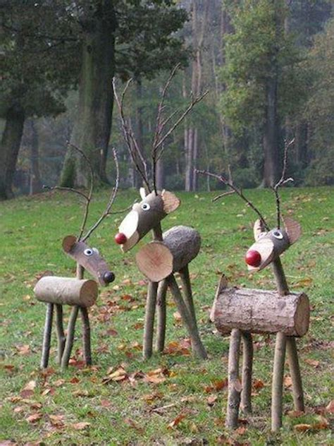 DIY Wooden Deer