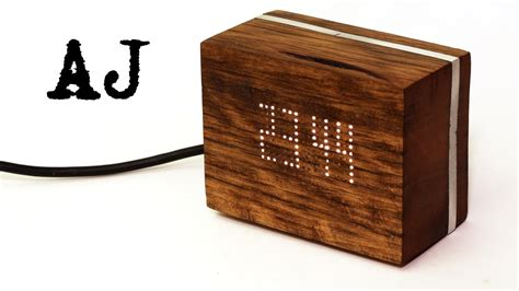 DIY Wooden Digital Clock