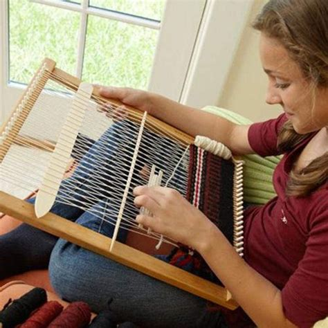 DIY Wooden Loom