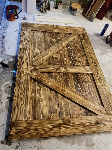 DIY Wooden Shed Door