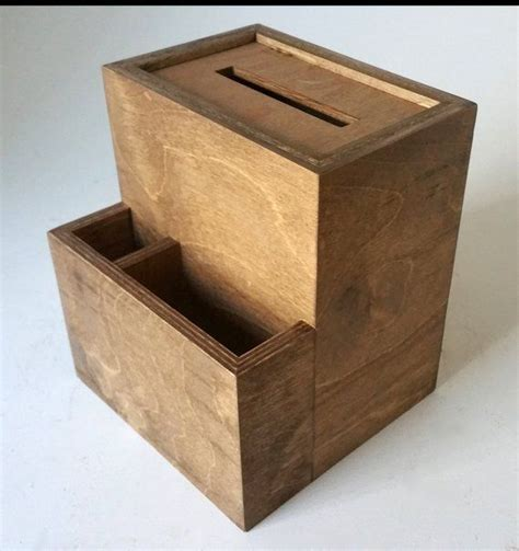 DIY Wooden Suggestion Box