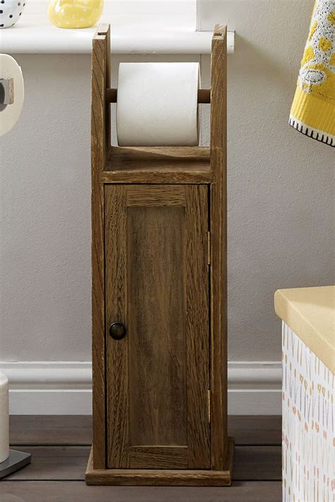 DIY Wooden Toilet Roll Holder