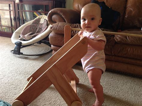 DIY Wooden Walker