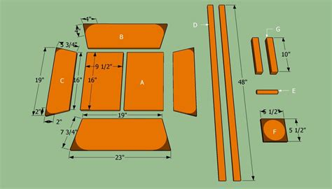 DIY Wooden Wheelbarrow Planter Plans