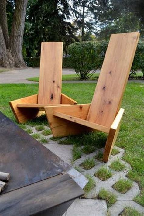 DIY Yard Chairs