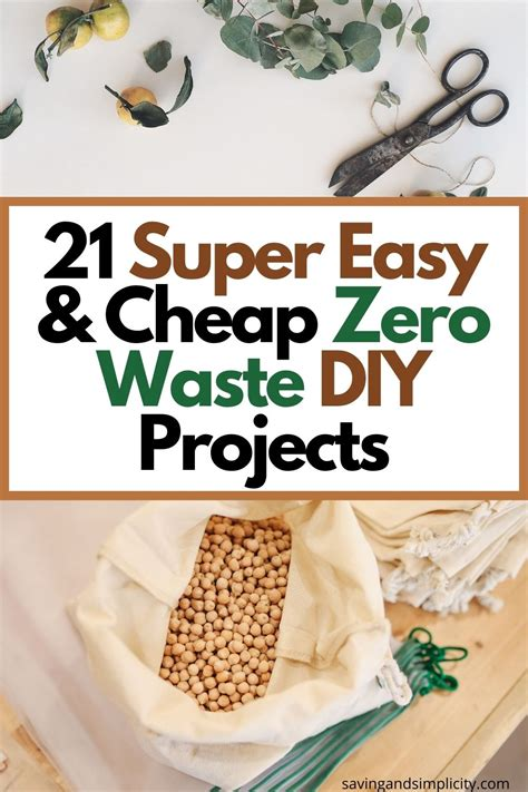 DIY Zero Waste Projects