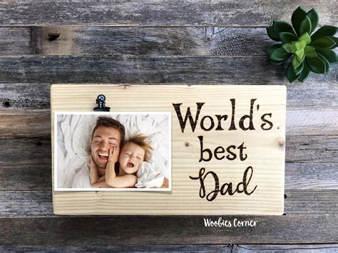 Dad Picture Frame DIY
