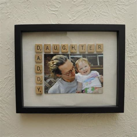 Daddy Daughter Picture Frame Diy Christmas