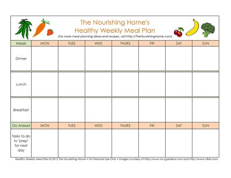 Daily-Meal-Plan-Table