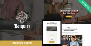 [click]daiquiri V1 0   A Bartender Services  Catering Wordpress .
