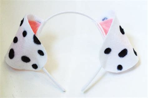 Dalmatian-Costume-Ears-Diy