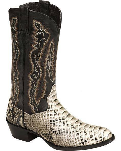 Dan Post Mens Omaha Round Toe Choc Boots