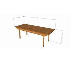 Best Danish modern coffee table plans