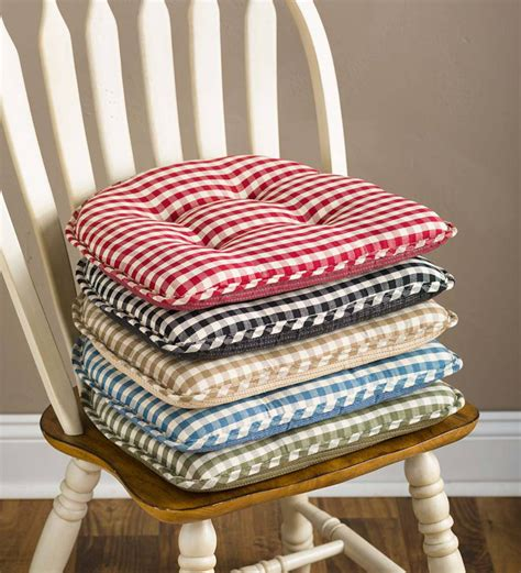 Dark Green Kitchen Chair Pads
