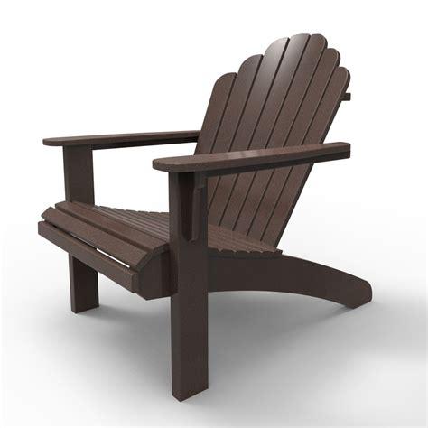 Dark-Brown-Adirondack-Chairs