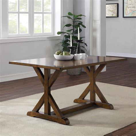 Dark-Brown-Farmhouse-Table