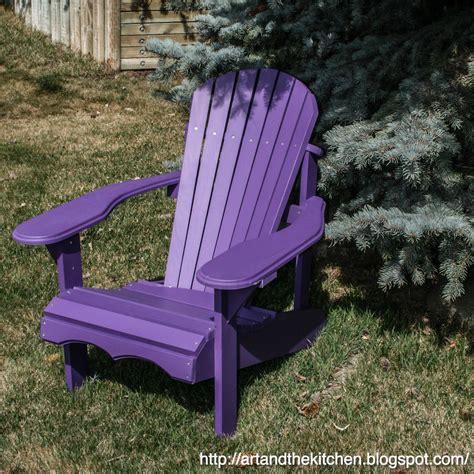 Dark-Purple-Adirondack-Chairs