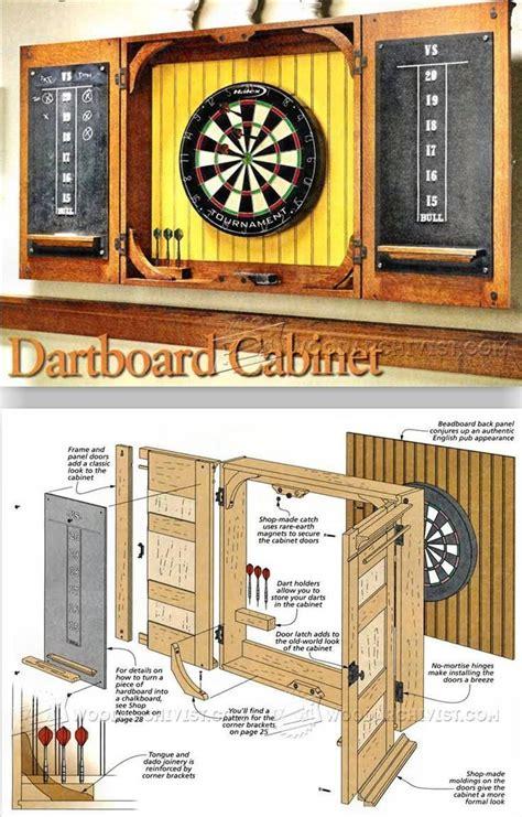 Dart-Board-Cabinet-Plans-Download