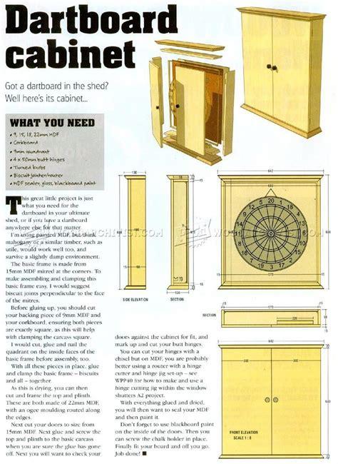 Dartboard-Cabinet-Plans-Download