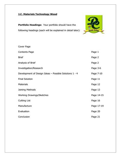 Davitt-College-Woodwork-Portfolio