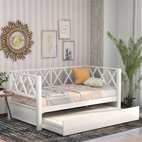 Day Bed With Trundle And Mattresses