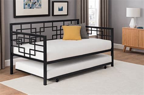 Daybed With Trundle Black