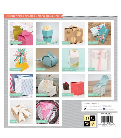 Dcwv DIY Project Stack Favor Boxes