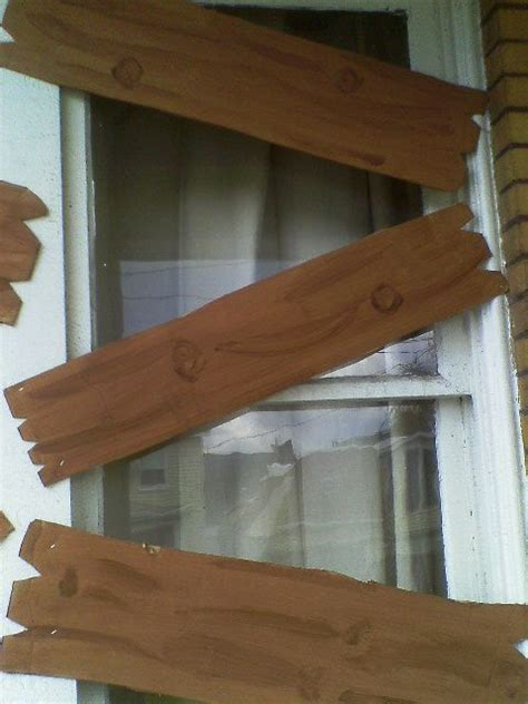 Dcwv Faux Wood Panels Diy Halloween
