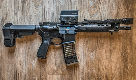 Ddr M4 300 Blackout Pistol And Gbw 300 Blackout Ammo