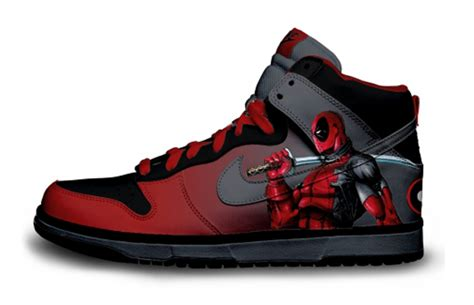Deadpool Sneakers Nike