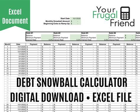Debt Calculator Payoff